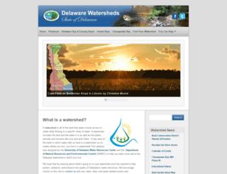delawarewatersheds.org screenshot