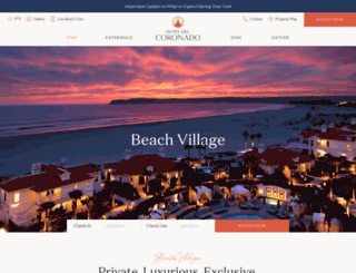 delbeachvillage.com screenshot