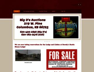 delbertrowden.com screenshot