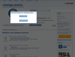 delboni-auriemo.catalogo.med.br screenshot