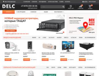 delc.ru screenshot