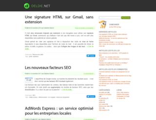 deldie.net screenshot