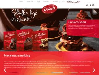 delecta.pl screenshot