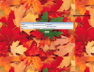 delegationcfba.alloforum.com screenshot