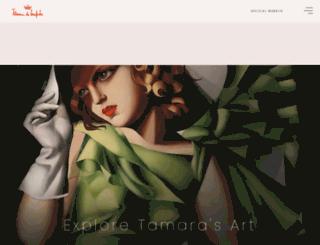 delempicka.org screenshot