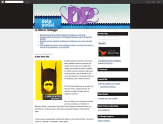 delepedal.ticoblogger.com screenshot