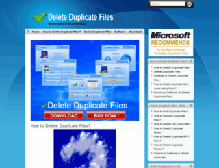 delete-duplicate-files.com screenshot