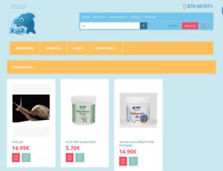 delfi.si screenshot