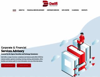 delficorp.com screenshot