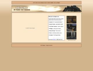 delgine.com screenshot