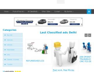 delhi.localsclassified.in screenshot