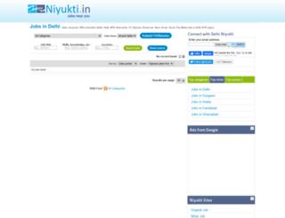 delhi.niyukti.in screenshot