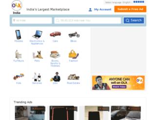 delhi.olx.in screenshot