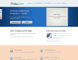 delhi.startupleadership.com screenshot