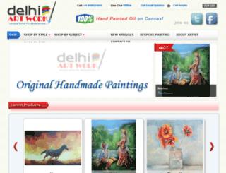 delhiartwork.com screenshot