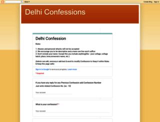 delhiconfessions.blogspot.com screenshot