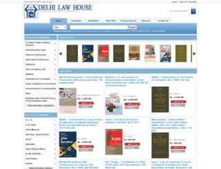 delhilawhouse.com screenshot