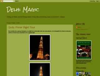 delhimagic.blogspot.com screenshot