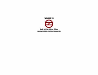 delhimetrorail.com screenshot