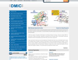 delhimumbaiindustrialcorridor.com screenshot