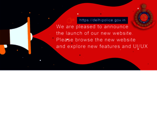 delhipolice.nic.in screenshot