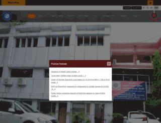 delhipolicelicensing.gov.in screenshot