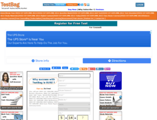 delhipolytechnic.testbag.com screenshot