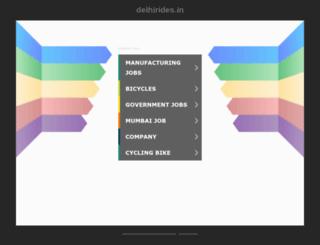 delhirides.in screenshot