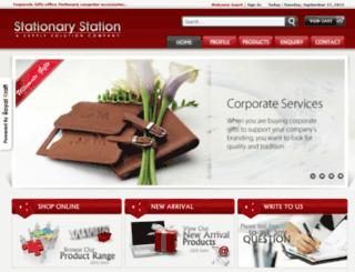 delhistationary.com screenshot