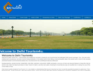 delhitourism4u.org screenshot