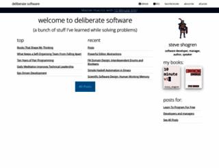 deliberate-software.com screenshot