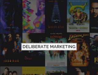 deliberatemarketing.com screenshot