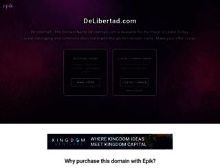 delibertad.com screenshot