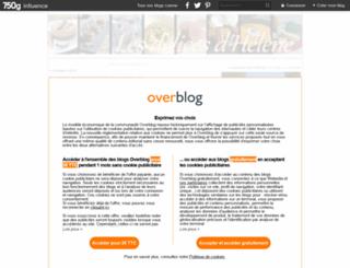 delicesdhelene.canalblog.com screenshot