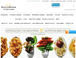 deliceville.com screenshot