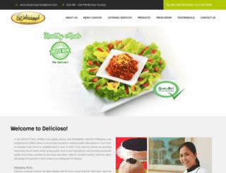 deliciosophilippines.com screenshot