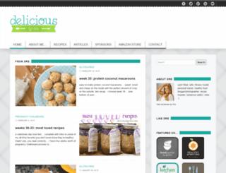 deliciousbydre.com screenshot