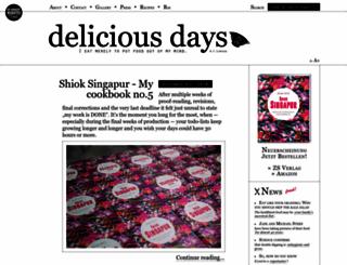deliciousdays.com screenshot