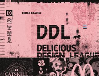 deliciousdesignleague.com screenshot