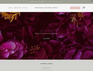 deliciousyetbeautiful.com screenshot