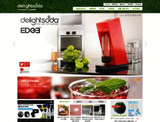 delightsoda.com screenshot