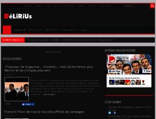 delirius-fake.com screenshot