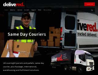 delivered.net screenshot
