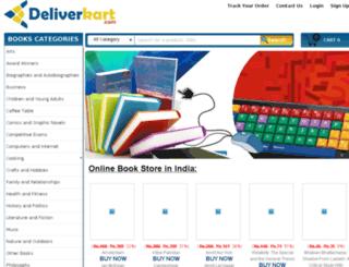 deliverkart.com screenshot