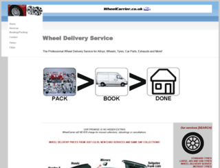 deliveryserviceshub.co.uk screenshot