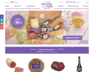 deliziedellefate.com screenshot