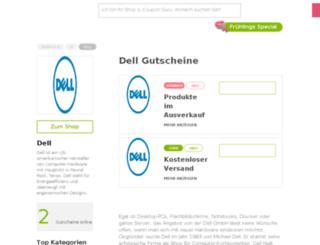 dell.gutscheincodes.de screenshot