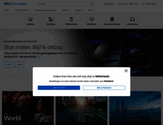 dell.nl screenshot