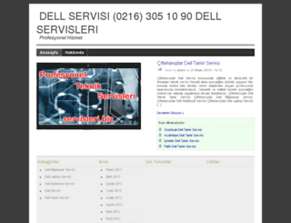 dell.servisleri.biz screenshot