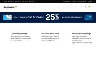 dellacasa.com.ar screenshot